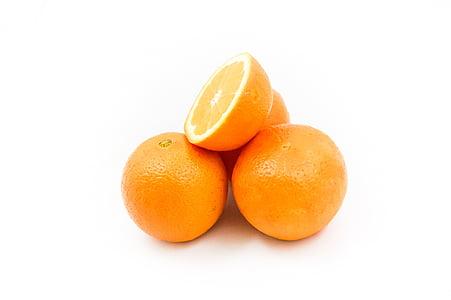 pomarańcze, owoce, witaminy, zdrowe odżywianie, pomarańczowy, Orange - owoce, jedzeniem i piciem