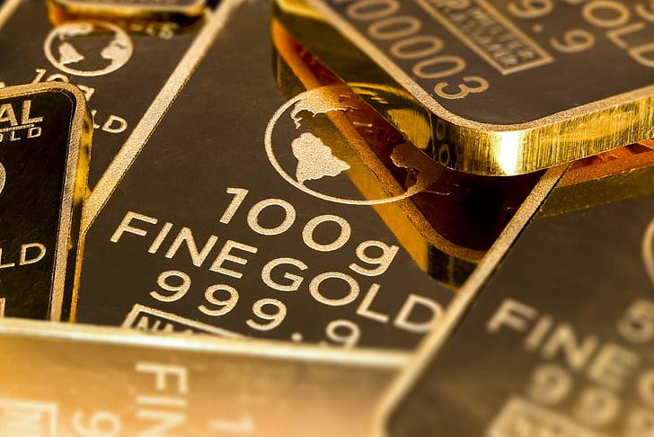 kuld on raha, Gold kauplus Baar, kuld, raha, äri, shopping, investeeringute