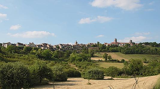Vézelay, Yonne, Kota, Pariwisata, Wisata, situs, Sejarah