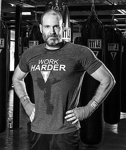 fitness, exercitarea, oameni, sala de sport, antrenament, se potrivesc, formare