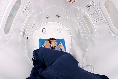 resta, son, pacient, teràpia, tractament, et beneeixi, l'oxigen