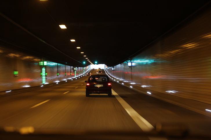 tunnelin, Transit, tumma, liikenne, alikulkutunneli, emstunnel, näön