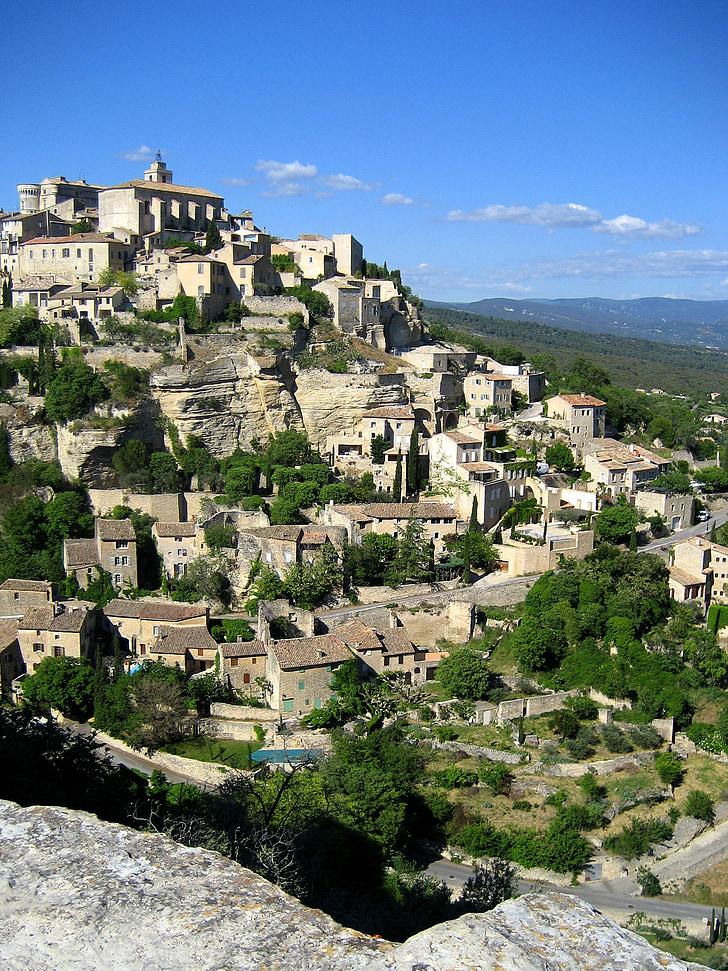 Gordes, Valclusa, Provença-Alps-Costa Blava, França, Provença