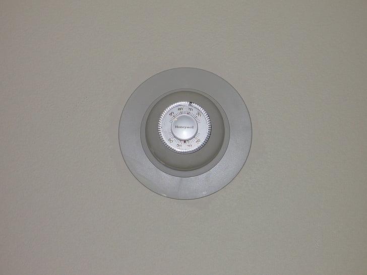 seina termostaat, termomeetri, kontrolli, kontrollimine, soojuse, Küte, leibkonna