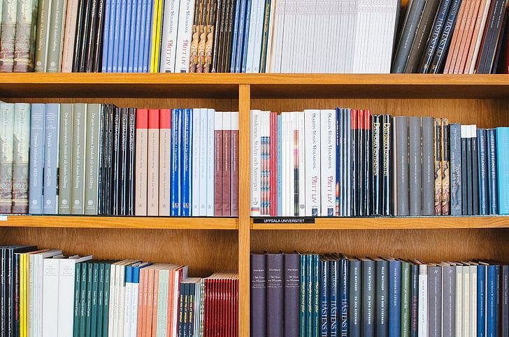 books, library, shelf, literature, information, education, knowledge