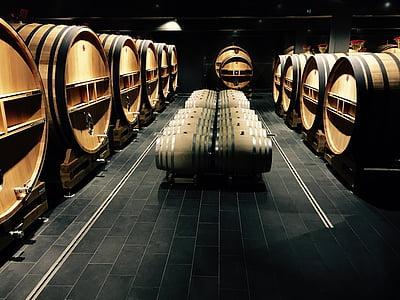 tunnor, vin, Champagne, dryck, Winery, fat, vinframställning