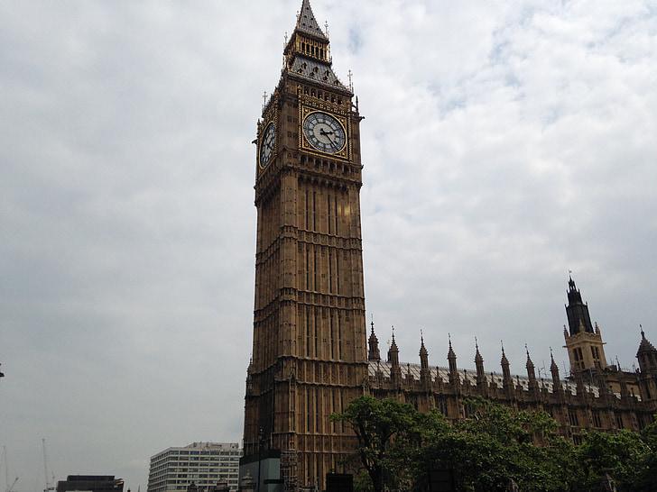 Lontoo, Big ben, arkkitehti