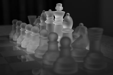 chess, chess game, chess pieces, king, lady, runners, play