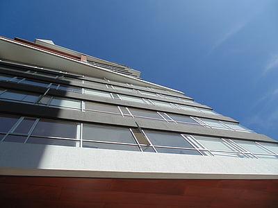 hoone, perspektiivi, arhitektuur, City, Tower, kaasaegne, Urban