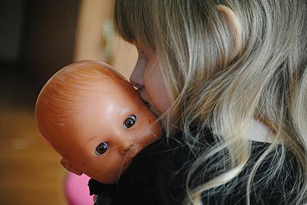 girl, baby, doll, baby girl, child, kid, adorable