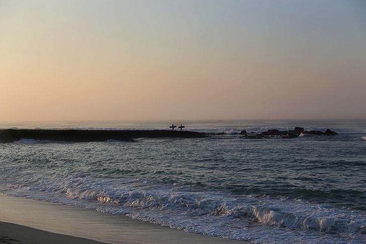 Wave-breaker, surfere, regnskabsmæssige, bestyrelser, Breakwater, Shorebreak, aften