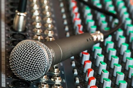 mikrofon, mixer, kábel, mikrofon kábel, éneklés, énekelni, erősítő