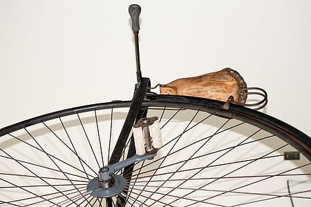 bicycle, large wheel, vintage, pedal, large, sport, cycle