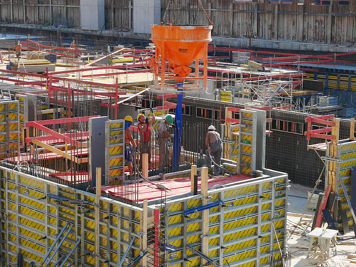 construction site, construction workers, work, workers, building, job, project