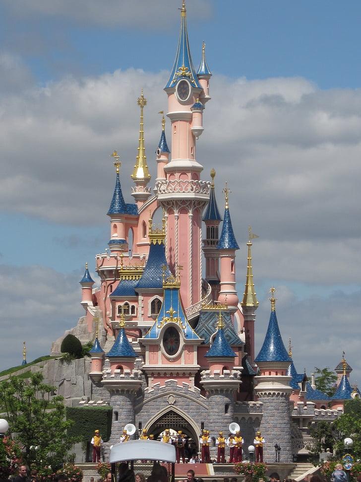 Eurodisney, slottet, eventyr