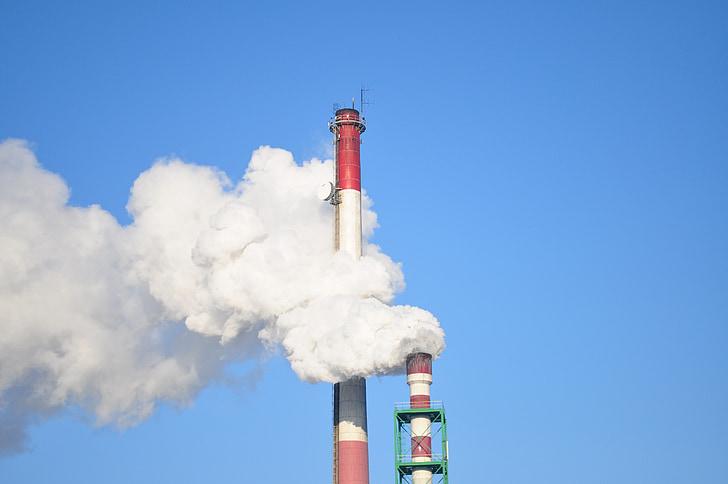fàbrica, la indústria, producció, tecnologia, empresa, industrial, fum