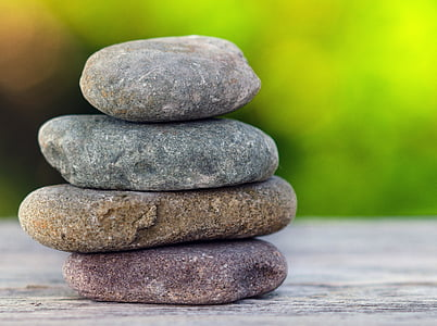 stones, pile, rock, nature, stack, balance, relaxation