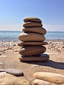 Rock, balans, sten, Zen, harmoni, stacken, Pebble