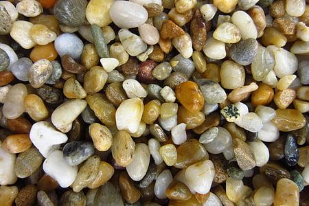 pedres, còdols, colors, molts, petit, patró, fons