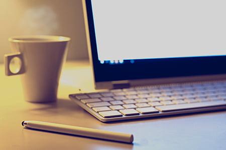 笔记本电脑, 计算机, 技术, 电子, 表, 工作, 办公桌