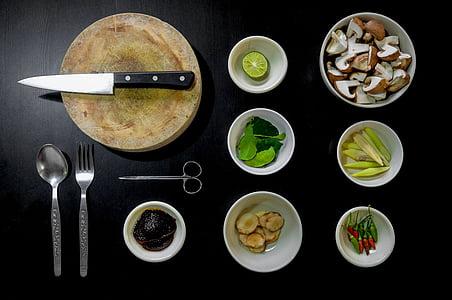 pavārs, ēdiena gatavošanai, virtuve, pārtika, sastāvdaļas, virtuves, veģetārietis