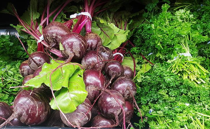 verdures, remolatxa, remolatxa, julivert, verds, fresc, produir