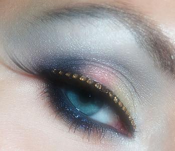 глаз, макияж, Аму, Косметика, составляют, глаза, женщина