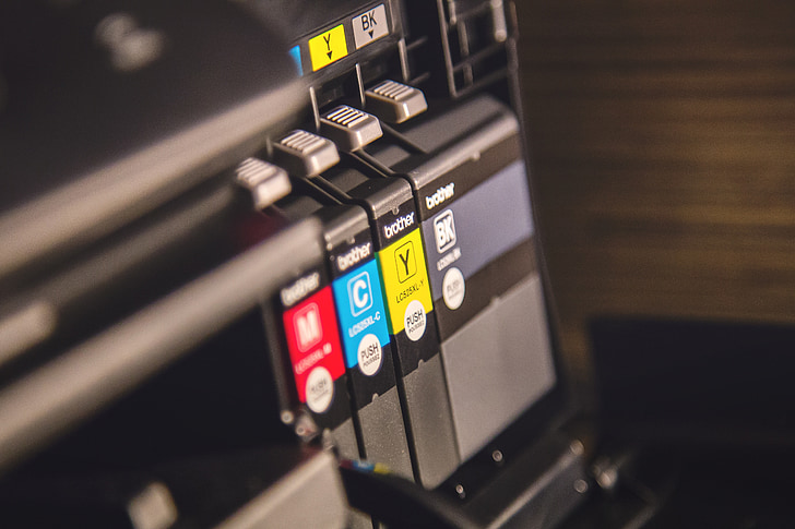impressora, tinta, tòner, tecnologia, imprimir, equips, ordinador
