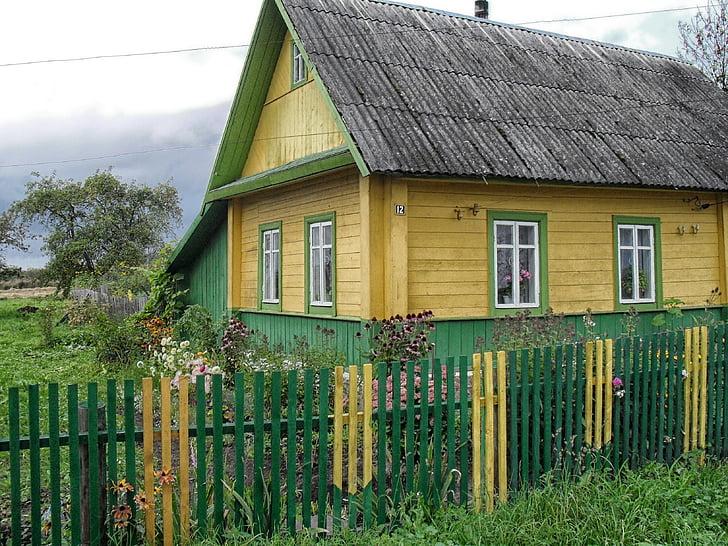 Bělorusko, dům, Domů Návod k obsluze, Architektura, Příroda, mimo, venkova