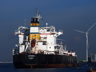 Artemis, fartyg, fartyg, hamnen, Frakt, Cargo, transport