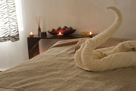 Spa, avkoppling, Massage