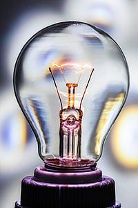 glödlampa, Nuvarande, elektrisk gnista, elektricitet, elektronik, idén, lampan