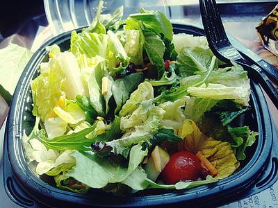 건강 한 식습관, 음식, 상 추, 샐러드, 음식과 음료, 야채, 건강 한 식습관