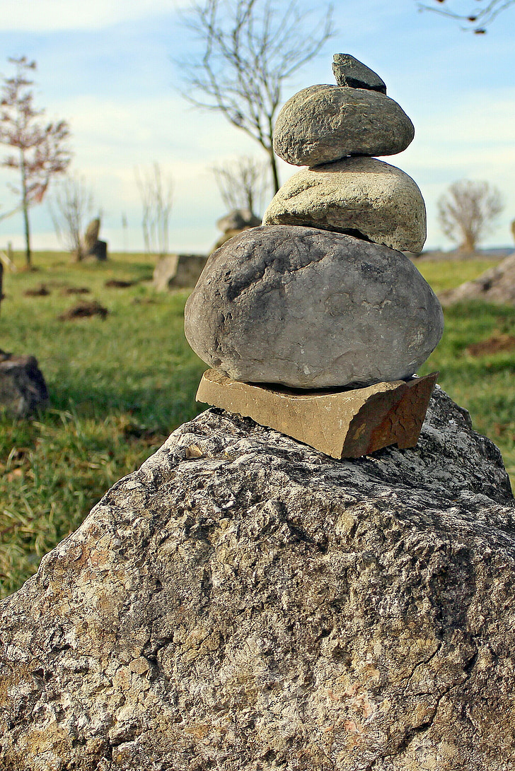 balance, steinmann, signpost, landmark, stone, stones, stone hill