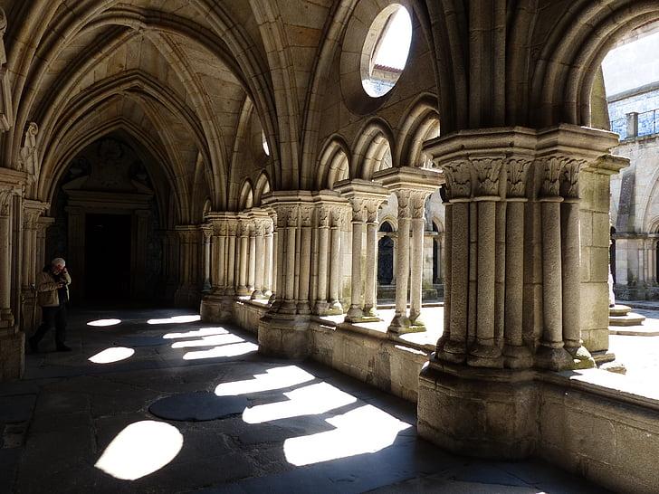 claustre, Catedral, torna la llum