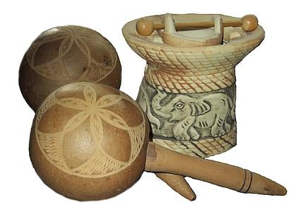 Rattle, oli essencial, Làmpada, fusta, elefant, Àsia, decoració