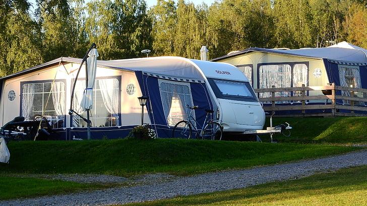 caravana, Càmping, tenda, vacances