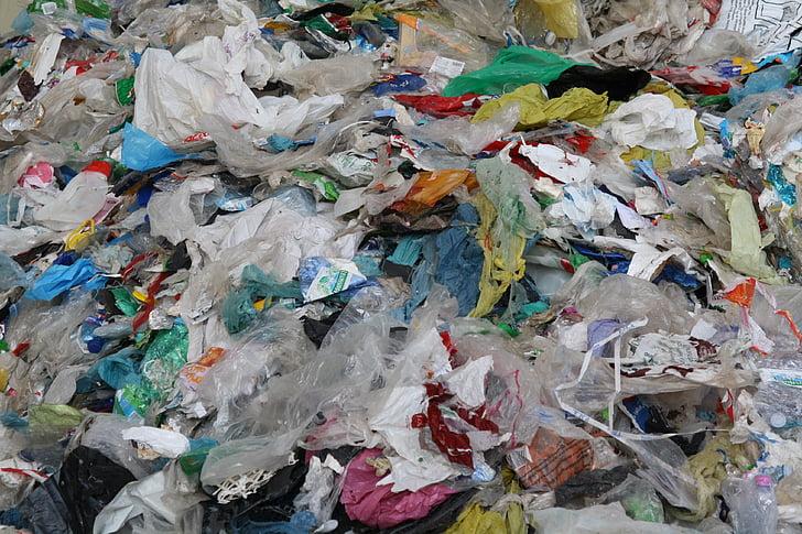 muovi, roskat, kokoelma