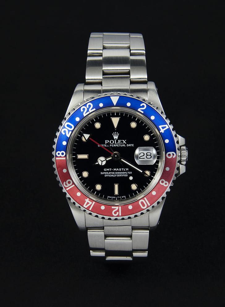 Rolex, rellotge de canell, rellotge, GMT, GMT-Màster, Mens, luxe