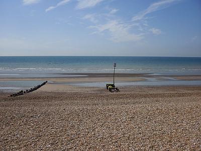 morje, Beach, počitnice, sam, Sprostite, peš, sončni vzhod