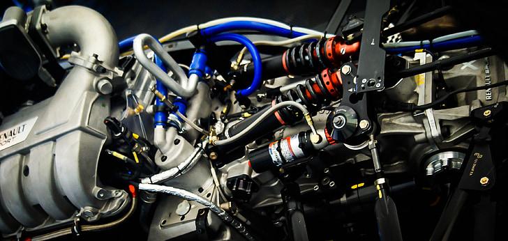 motor de cotxes de carreres, motor, mecànica, auto, cotxe de carreres, vehicle, motor del cotxe