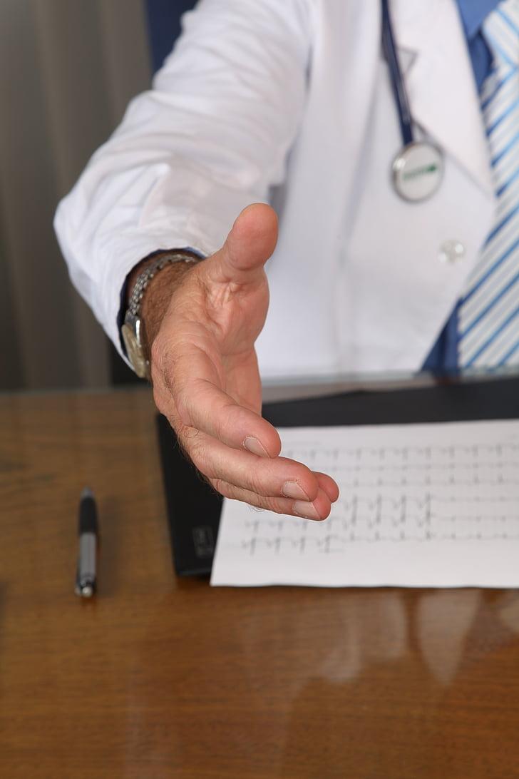 metge, seguretat, Oficina, Hospital, injecció, Anàlisi, tractament