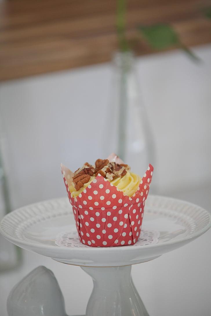 Cupcake, dessert, cibo, fotografia di Food, macro, dolce
