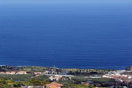 Tenerife, l'oceà Atlàntic, la Costa, paisatge, veure, vacances, blau