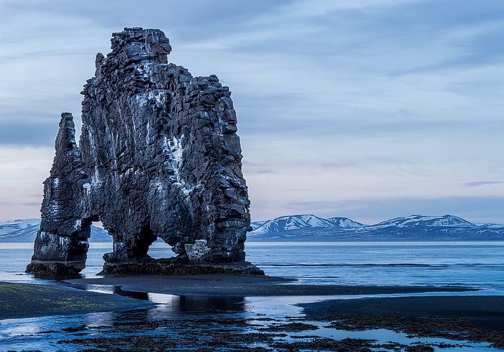 harmaa, Rock, muodostuminen, kehon, vesi, päivä, aika