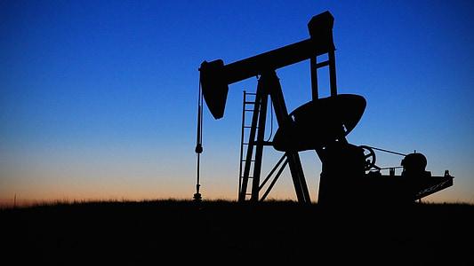 sota de la bomba, jaciment, oli, combustible, indústria, petroli, bomba