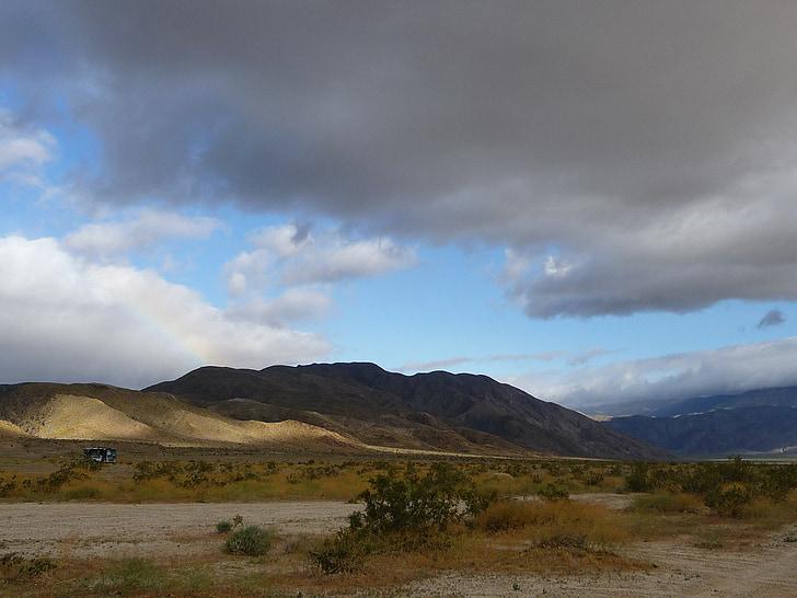 Montana, Glacera del parc nacional, paisatge, paisatge, núvols, muntanyes