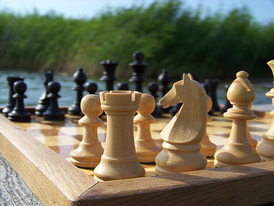 chess, chess pieces, the basic position, staunton, chess piece, chess board, strategy