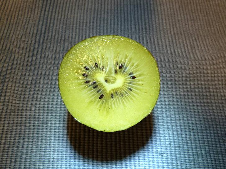 Kiwi, hjertet af, frugt