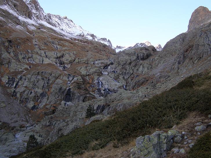 Mercantour, gordolasque dalen, Alpes-maritimes